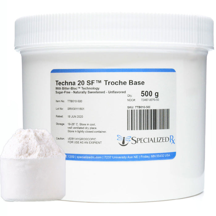 Techna 20 SF Troche Base w/Bitter-Bloc 500 g