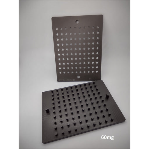 Tablet Triturate Molds, 100 Cavity (Hard-Coated)