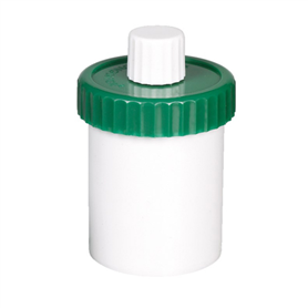 Unguator® Jars - Green Lid, White Cap