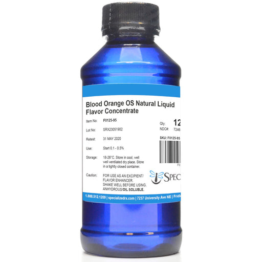 Blood Orange OS Natural Liquid Flavor Concentrate
