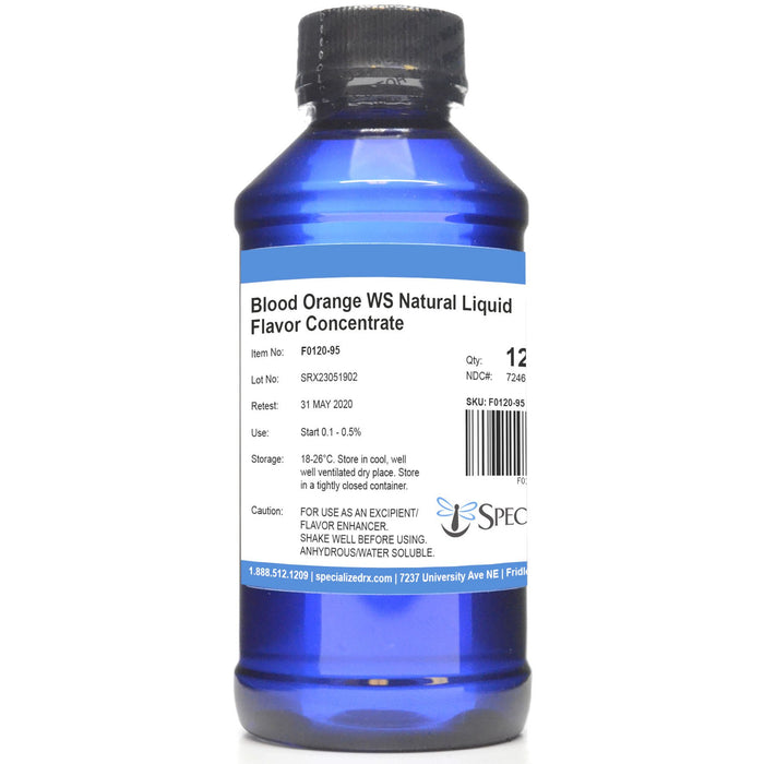 Blood Orange WS Natural Liquid Flavor Concentrate