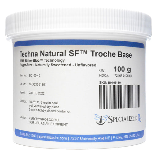 Techna Natural SF™ Troche Base (100 g)
