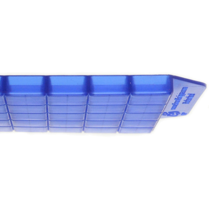 side view of troche mold tray