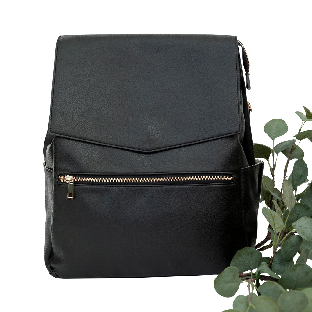 Classic Nappy Backpack (Black)