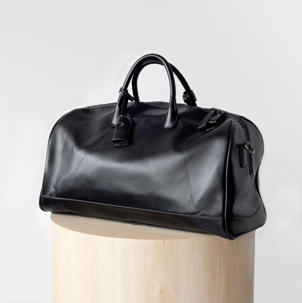 Signature Weekender/Travel Bag (Black)