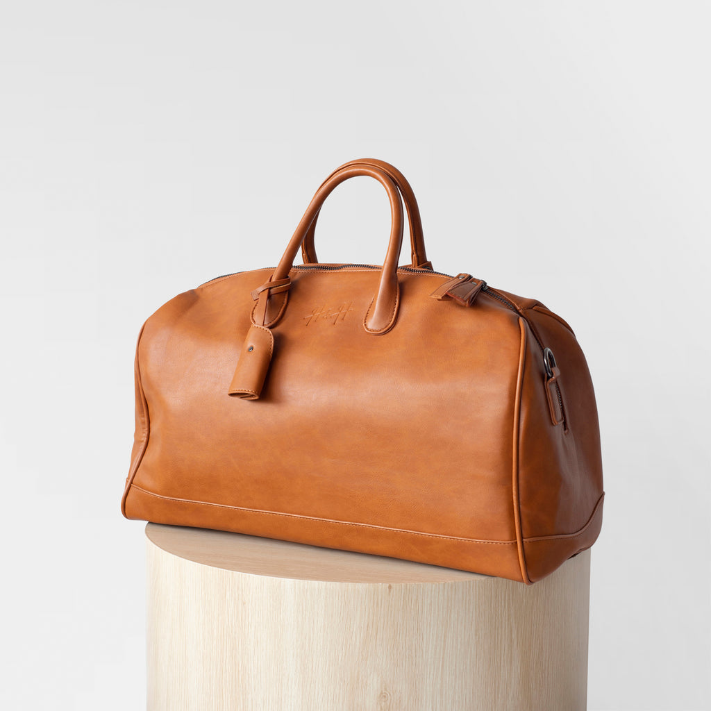 Signature Weekender/Travel Bag (Brown)