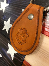 Cargar imagen en el visor de la galería, For Our Troops and Veterans - Proud to Serve the USA! - Handcrafted Key Ring Fob