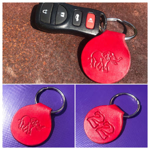 Rep yo Club with the Mini Double Sided Key Fob!