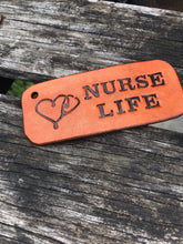 Load image into Gallery viewer, Nurse Life 🩺 Key Ring Fob