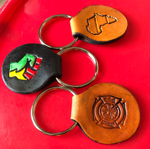 Mini Keyring Key Fobs - Represent for the People