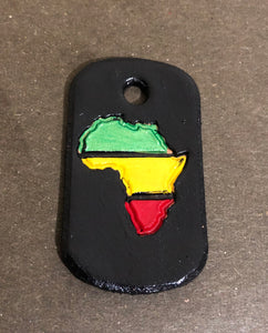 Special Edition - Juneteenth - Dog Tag Key Ring