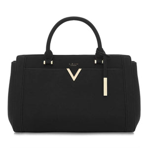 Dawson Black Vegan Laptop Bag
