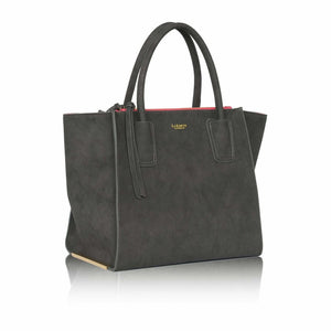 Demi Grey Tote Bag
