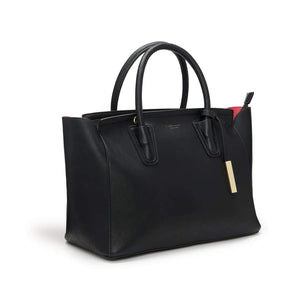 Grant Black Vegan Shoulder Bag