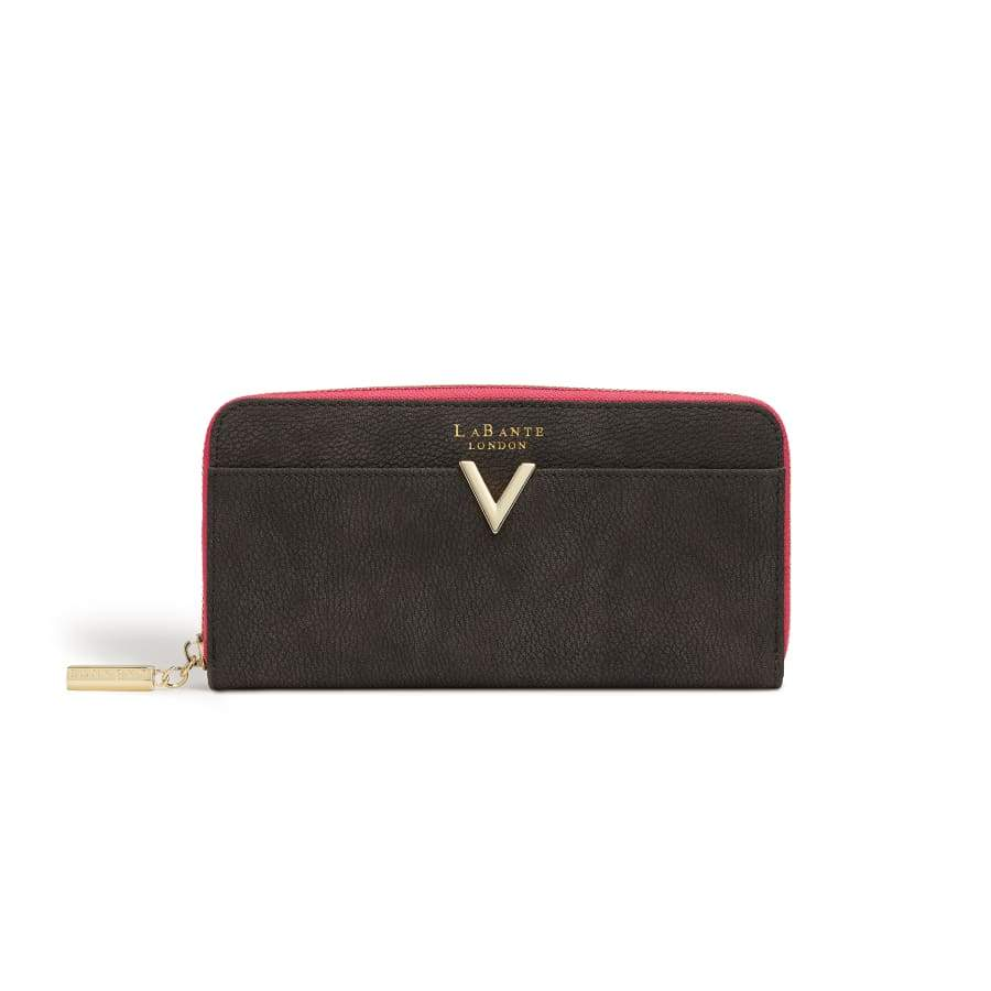 Kindness Dark Grey Vegan Two-Tone Wallet