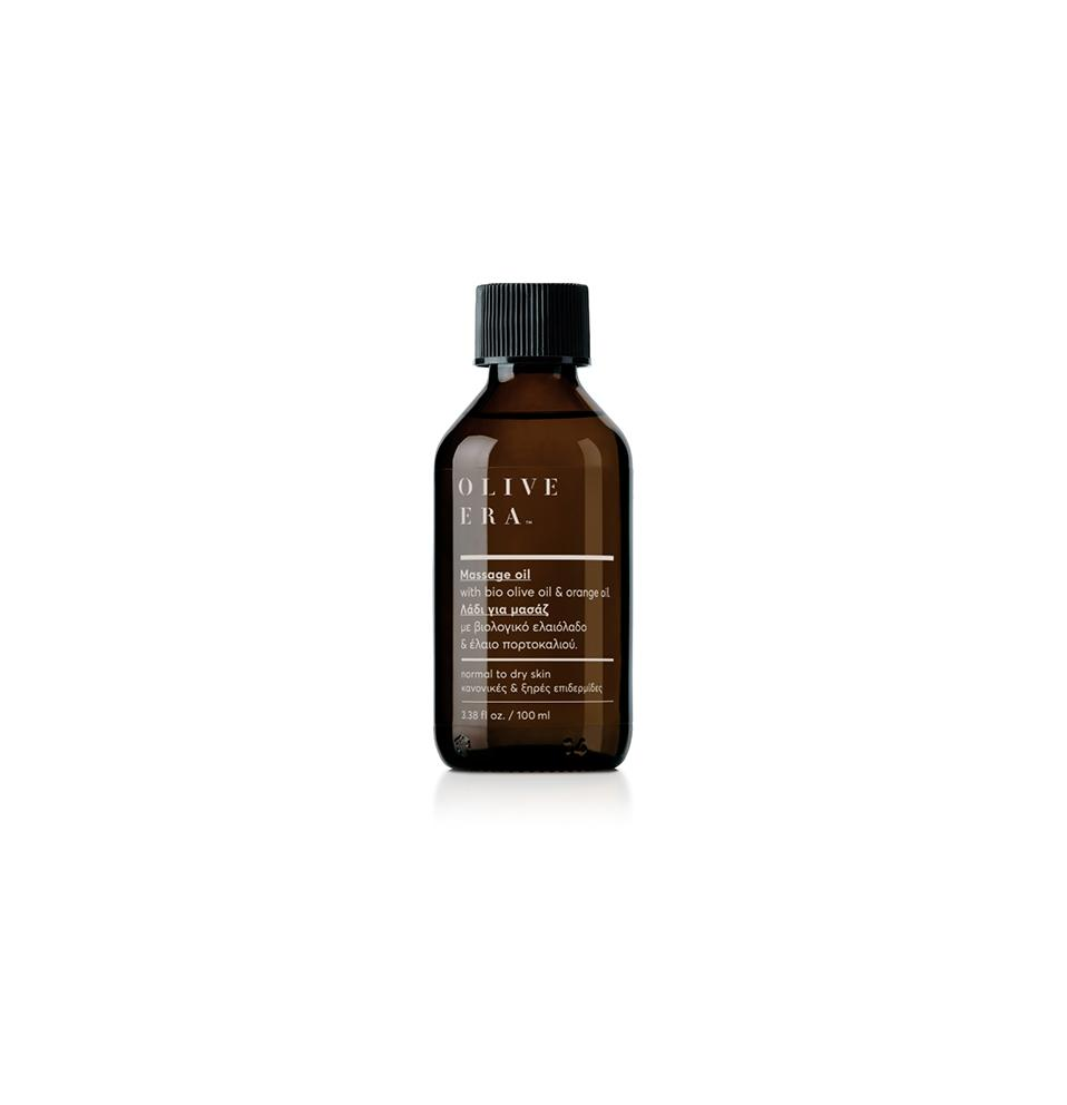 Olive Era Revitalizing massage oil with bio olive oil & orange oil Λάδι μασάζ