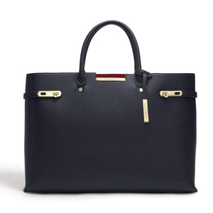 Windsor Blue Vegan Shoulder Bag