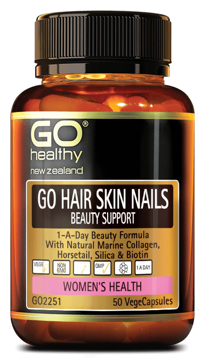 Go Healthy Go Hair Skin Nails Beauty Support 50s
