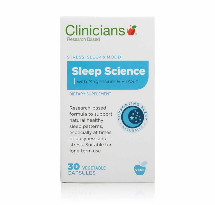 Clinicians Sleep Science 30's with Magnesium and ETAS