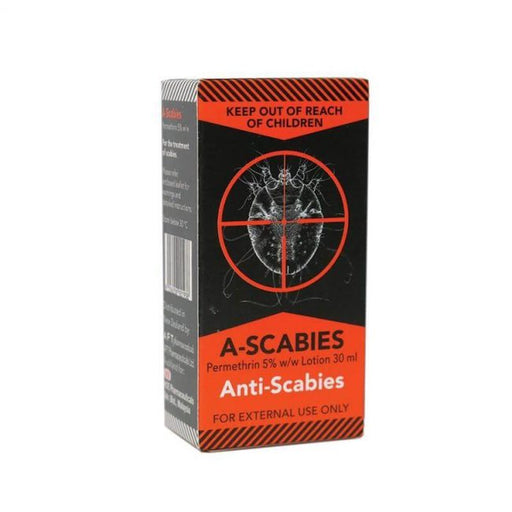A-Scabies – Permethrin 5% Lotion 30ml