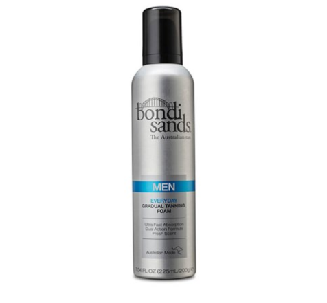 Bondi Sands Mens Everyday Gradual Tanning Foam 225ml