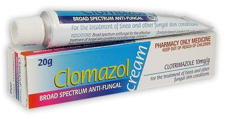 Clomazol Broad Spectrum Anti-fungal Topical Cream 1% 20 g