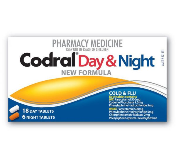 Codral PE Day/Night Codeine Free 24 Tabs