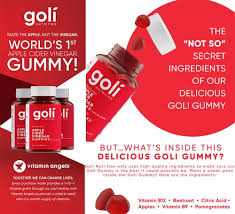 Goli - World's First Apple Cider Vinegar Gummy