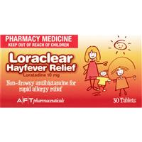 Loraclear Hayfever Relief 30 10mg Tablets