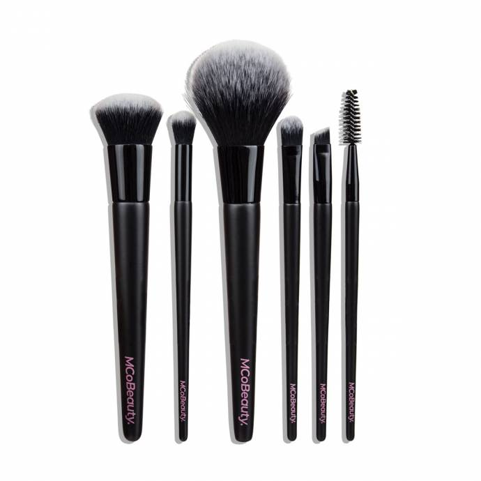 MCoBeauty Everyday Essentials Brush Set 6pc