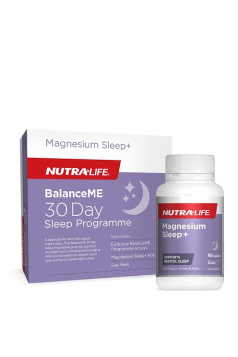 Nutra-Life BalanceME 30 Day Sleep Programme