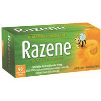 Razene 10mg Tablets 90 OTC Pack
