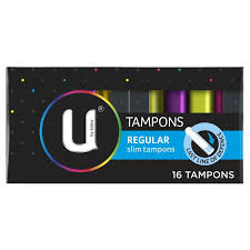 U by Kotex Regular Slim Tampons 16