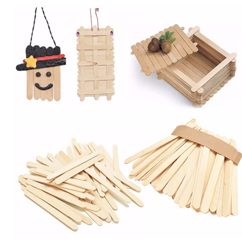 (50% OFF ONLY TODAY)50PCS Wooden Ice Cream Sticks