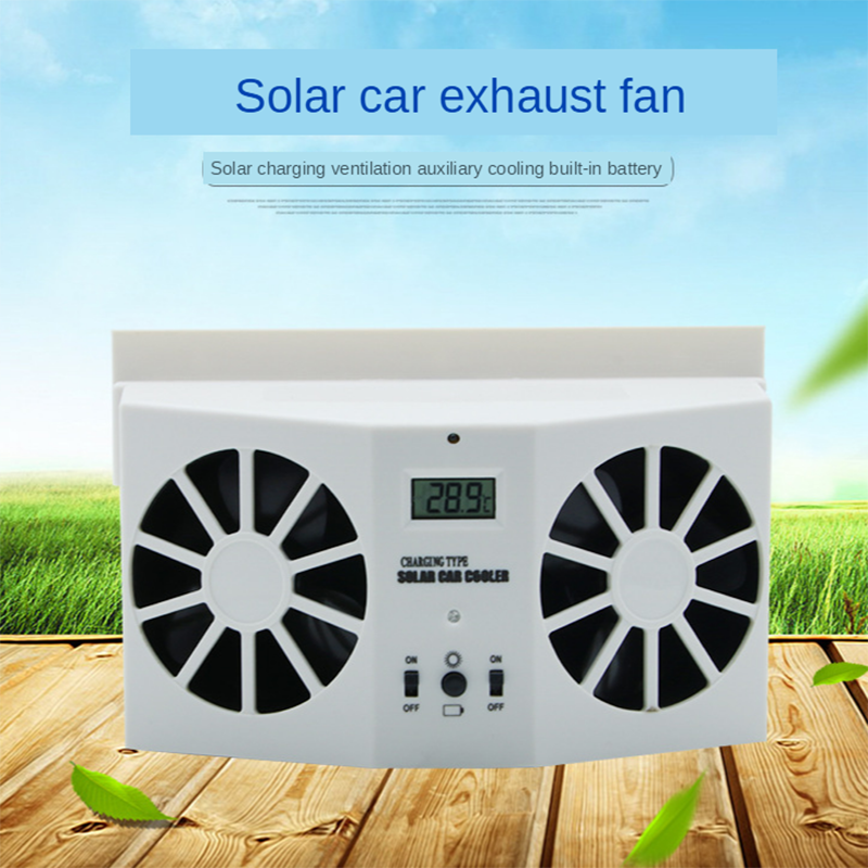 (50% OFF )Solar Car Ventilation Fan