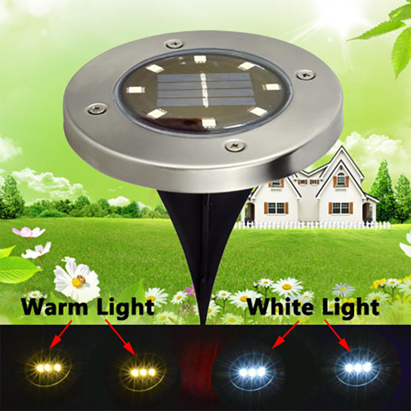 (Hot Sales)Solar LED Lawn Light