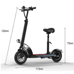 50km/h Folding Electric Scooter Wth Seat