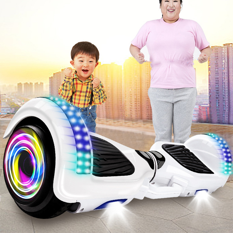Smart Self-Balancing Electric Scooter