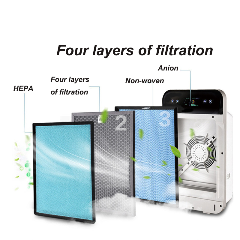 Home Air-Purifier Ionizer Generator Purification