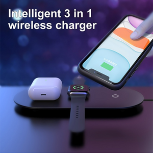 3-in-1 Wireless Charger Charging Station