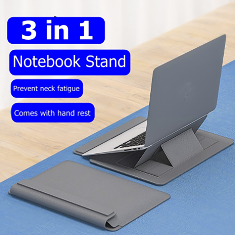 3-in-1 Laptop Sleeve Bag Stand