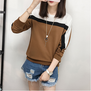 2019 Autumn Winter Long Sleeve T shirt Women Tops Tshirt Women T-shirt O-neck Loose Cotton Tee Shirt Femme Plus Size