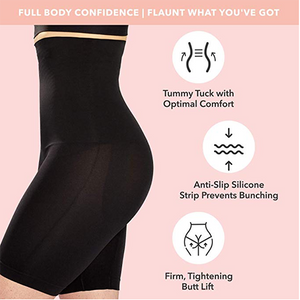 High Waisted Body Shaper Shorts (Limited Time Promotion-50% OFF)