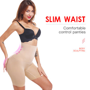 Hi-Waist Slip Shorts for Under Dress