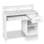 Artiss Office Computer Desk with Storage - White - Decorly