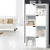 Artiss Display Shelf 8 Cube Storage 4 Door Cabinet Organiser Bookshelf Unit White - Decorly