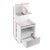 Artiss Bedside Table Cabinet Shelf Display Drawer Side Nightstand Unit Storage - Decorly