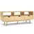 Artiss Wooden Scandinavian Entertainment Unit - Natural - Decorly