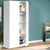 Artiss Multi-purpose Cupboard 2 Door 180cm Wardrobe Closet Storage Cabinet Kitchen Organiser White - Decorly