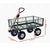 Gardeon Mesh Garden Steel Cart - Green - Decorly
